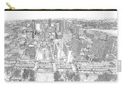 Downtown St. Louis Panorama Sketch Carry-all Pouch