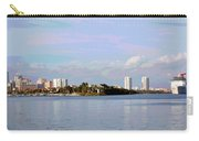 Downtown Tampa With Cruise Ship Carry-all Pouch