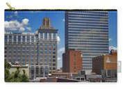 Downtown Winston-salem Under Fair Skies Carry-all Pouch