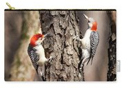 Downy Woodpeckers Carry-all Pouch