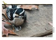 Downy Wooodpecker Picoides Pubscens Carry-all Pouch