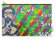 Dr. Cornel West  Love The People Carry-all Pouch