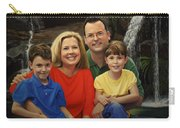 Dr. Devon Ballard And Family Carry-all Pouch