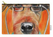 Dr. Dog Carry-all Pouch by Michelle Hayden-Marsan