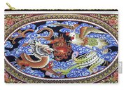 Dragon And Bird Carry-all Pouch