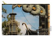 Dragon And Umbrella Sing In Barcelona Carry-all Pouch