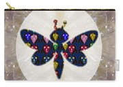 Dragon Fly Cute Painted Face Cartons All Over Donwload Option Link Below Personl N Commercial Uses Carry-all Pouch