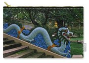 Bao Tang Temple Railing In Ho Chi Minh City Carry-all Pouch