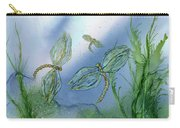 Dragonflies At Dusk Carry-all Pouch