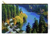 Dragonflight Over The Spokane River Carry-all Pouch