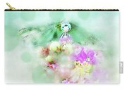 Dragonfly And Polka Dots Carry-all Pouch