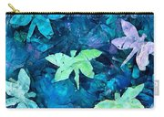 Dragonfly Blues Carry-all Pouch
