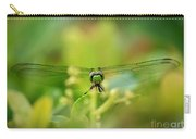 Dragonfly Dream In Green Carry-all Pouch