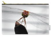 Dragonfly Face Carry-all Pouch