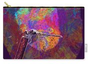 Dragonfly Insect Close Wing  Carry-all Pouch