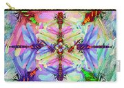 Dragonfly Mandala Carry-all Pouch