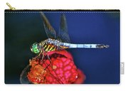 Dragonfly On A Pitcher Plant 009 Carry-all Pouch