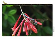 Dragonfly On Honeysuckle Carry-all Pouch