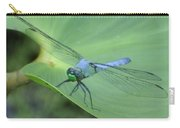 Dragonfly On Lily Carry-all Pouch