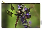 Dragonfly On Salvia Carry-all Pouch