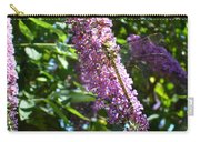 Dragonfly On The Butterfly Bush Carry-all Pouch