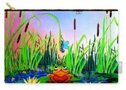 Dragonfly Pond Carry-all Pouch by Hanne Lore Koehler