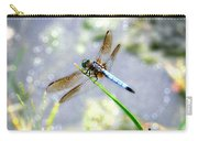 Dragonfly Portrait Carry-all Pouch