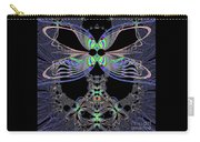 Dragonfly Queen At Midnight Fractal 161 Carry-all Pouch