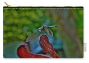 Dragonfly Resting Carry-all Pouch