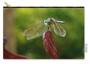 Dragonfly Resting II Carry-all Pouch