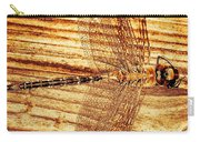 Dragonfly Sepia Carry-all Pouch