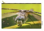 Dragonfly Wiping Its Eyes Carry-all Pouch