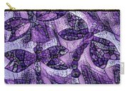 Dragons In Lavender Mosaic Carry-all Pouch