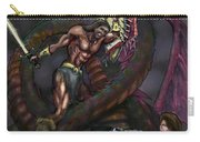 Dragonslayer N Damsel Carry-all Pouch