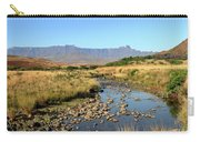Drakensberg Amphitheatre Mountain Range In Kwazulu Natal, South Africa Carry-all Pouch