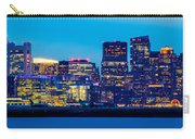 Dramatic Boston Skyline  Carry-all Pouch