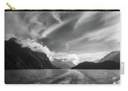 Dramatic Clouds And Alpine Scenery At Lake Manapouri  Carry-all Pouch