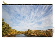 Dramatic Clouds Over Boise River In Boise Idaho Carry-all Pouch