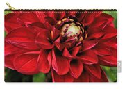 Dramatic Dahlia Carry-all Pouch