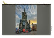 Dramatic Edinburgh Sunset At The Hub In Scotland  Carry-all Pouch