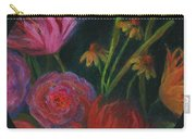 Dramatic Floral Still Life Painting Carry-all Pouch