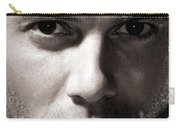 Dramatic Male Portrait Carry-all Pouch