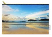 Dramatic Scene Of Sunset On The Beach Carry-all Pouch by Setsiri Silapasuwanchai