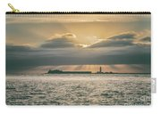 Dramatic Sky Over Hurst Castle Carry-all Pouch