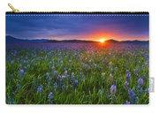 Dramatic Spring Sunrise At Camas Prairie Idaho Usa Carry-all Pouch