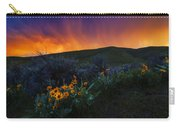 Dramatic Spring Sunset In Boise Idaho Usa Carry-all Pouch