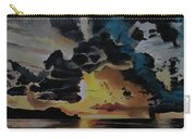 Dramatic Sunset Seascape Carry-all Pouch
