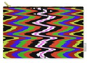 Drawing Abstract # 8455wtr Carry-all Pouch