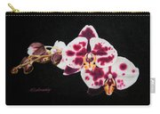 Drawing Of Polka Dot Moths Carry-all Pouch