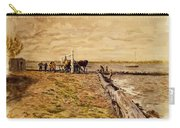 Drawing The Seine 1882 Carry-all Pouch